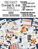 Four Perfect Pebbles Guided Notes + BONUS
