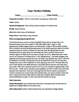 Four Perfect Pebbles Information Sheet