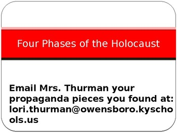 Four Phases of the Holocaust