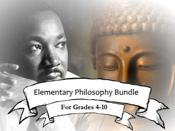 Elementary Philosophy Bundle: Diverse Reading and Discussion Activities