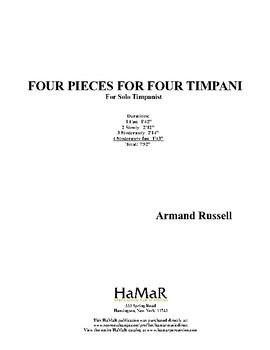 Four Pieces for Four Timpani