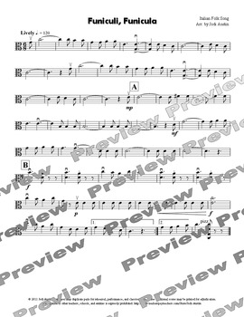 Four Pieces for Strolling Viola (sheet music for solo viola)