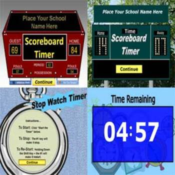 Classroom Timers and Stop Watch - PowerPoint