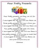 Four Pretty Presents Birthday Finger Play