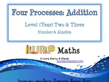 Four Processes - Addition - Level 2 & 3