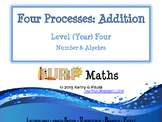 Four Processes - Addition Level Four