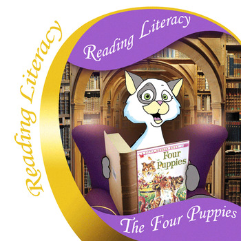 Four Puppies Reading Literacy Activities