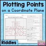 Coordinate Plane Riddles (Four Quadrants) 6.NS.6c