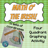 Four Quadrant Graphing: St. Patrick's Day