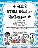 Four Quick STEM Challenges - Stations