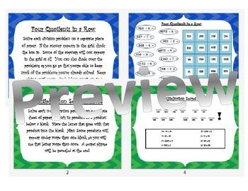 Multiplication & Division Puzzles