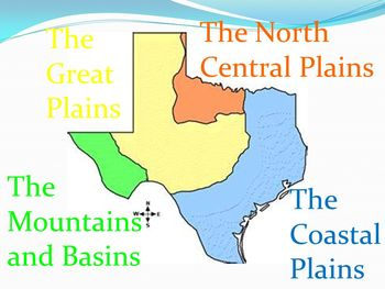 Regions Of Texas Map 4th Grade.4 Regions Of Texas Worksheets Teaching Resources Tpt