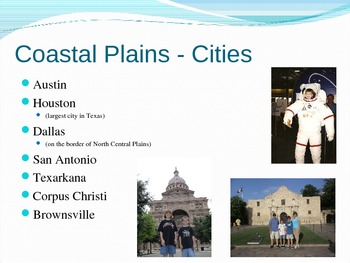 Four Regions of Texas PowerPoint Presentation