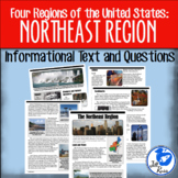 Northeast Region Informational Text {Four Regions of the United States}