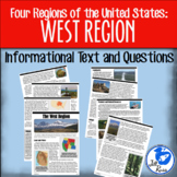 West Region Informational Text {Four Regions of the United States}