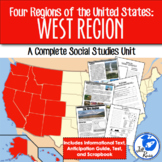 West Region Complete Unit {Four Regions of the United States}