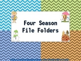 Four Season File Folders (18 total)