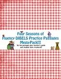 Four Seasons of Fluency DIBELS Practice Passages Bundle Pack!
