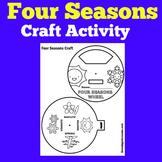 Four Seasons Worksheet | Craft