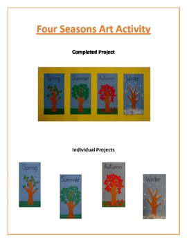 Four Seasons Art Activity