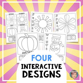 Four Seasons - Winter, Spring, Summer, & Fall Interactive ...