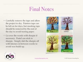 Four Seasons - Art Lesson