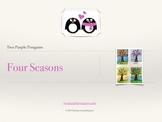 Art Lesson for Elementary - Four Seasons