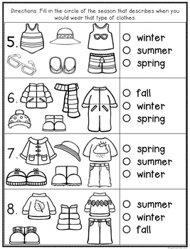 Four Seasons Assessment
