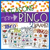 Four Seasons ~ BINGO ~ 2 levels!