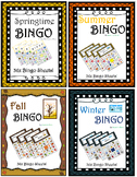 Four Seasons Bingo! (Spring Summer Fall Winter)