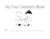 Four Seasons Book - Black and White Cover