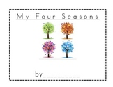 Four Seasons Book for First Grade