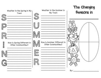 Four Seasons Brochure Writing