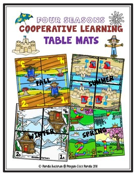 Four Seasons COOPERATIVE LEARNING Table Mats