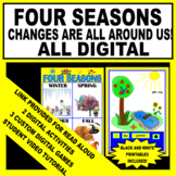 Four Seasons - Changes Are All Around Us (Digital - Completed Work Printable)