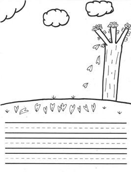 Four Seasons Draw and Write