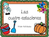 Four Seasons Drawing Pages (Las estaciones: Spanish)