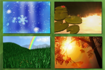 Four Seasons - Educational Music Video Bundle (with quiz a