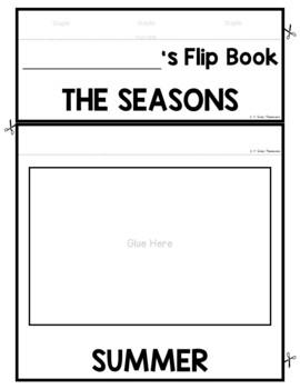 Four Seasons FLIP Book