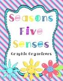 Four Seasons Five Senses Graphic Organizers