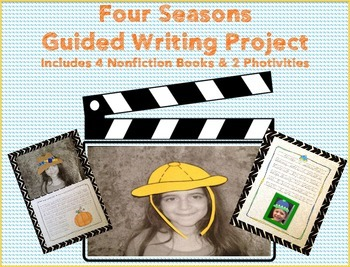 Four Seasons Guided Writing with Nonfiction Readers and Cr