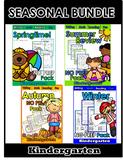 Four Seasons Kindergarten NO PREP Mega Bundle!