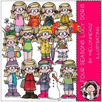 Melonheadz: Four Seasons clip art - Lucy Doris