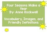 Four Seasons Make a Year (Ready Gen Vocabulary)