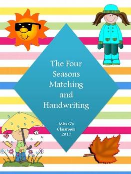 Four Seasons Matching and Handwriting