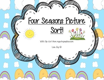 Four Seasons Picture Sort!