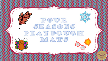 Four Seasons Playdough Mats