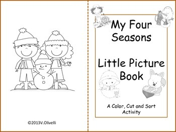 ESL Activity: Four Seasons Poem/Activities Early Primary and ELL Newcomers