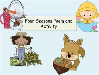 ESL Activity: Four Seasons Poem/Activities Early Primary a