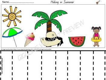 Seasons Pre-K Math and Literacy Activities